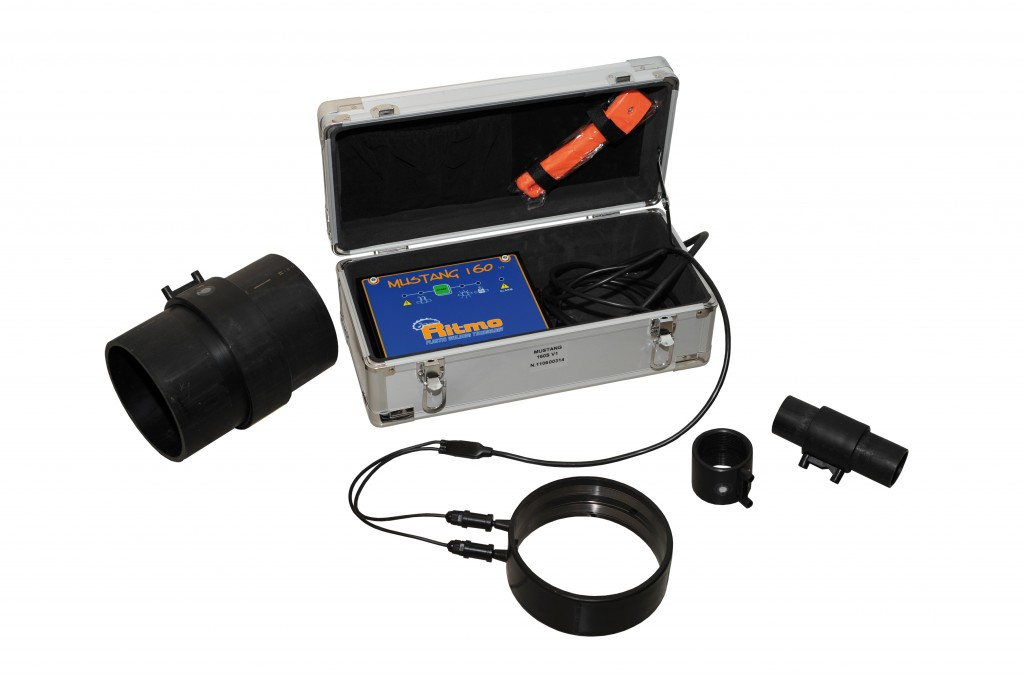 Ritmo Mustang 160 Electrofusion welding machines for low pressure pipes plastic welding equipment